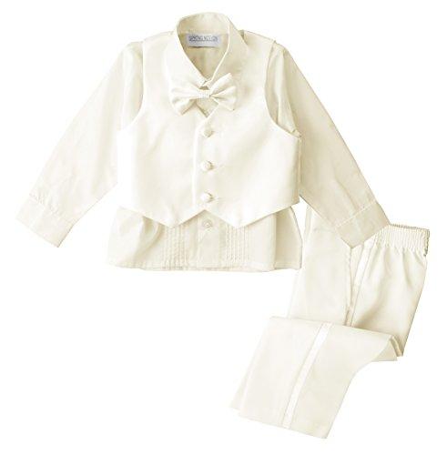 f486f16fcd2ab Tuxedos – Spring Notion Baby Boys' Ivory Classic Fit Tuxedo Set, No Tail  Large/12-18M